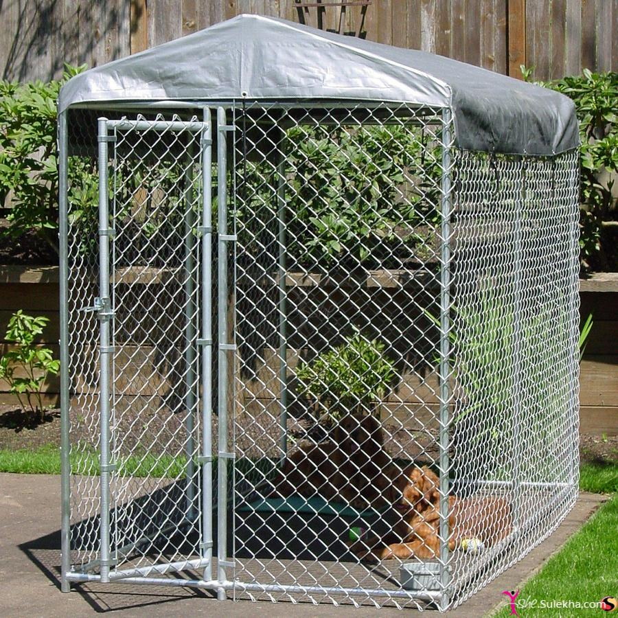 Material Dog Kennels